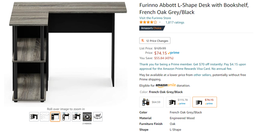 A New Desk